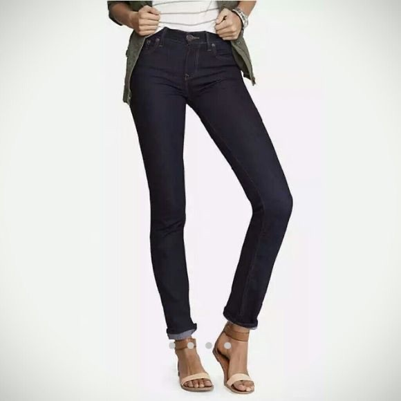 """New Express Jeans """"Mia"""" Mid Rise Skinny Jeans"""
